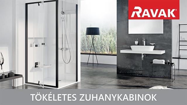 Miért válassz RAVAK zuhanykabint?